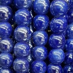 Bola de cerámica azul marino de 10 x 10 mm.
