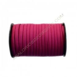 Nailon elástico de 5 mm rojo