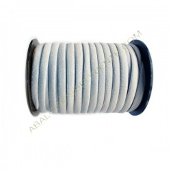 Nailon elástico de 5 mm gris