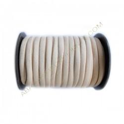 Nailon elástico de 5 mm beige