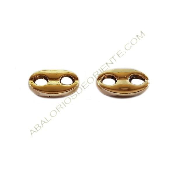 Calabrote de aleación de Zinc chapado en oro