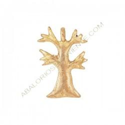 Colgante de bronce 24 árbol. 60 x 40 x 4 mm