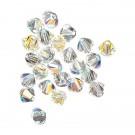Tupi 4 mm Swarovski cristal ab