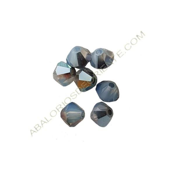 Tupi 4 mm Swarovski white opal star shine