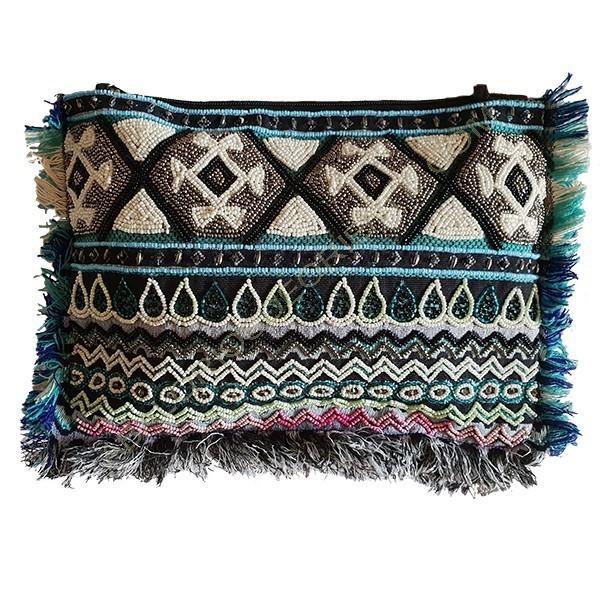 Bolso étnico indio en colores variados