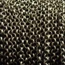 Cadena de hierro bronce eslabón circular de 3 mm