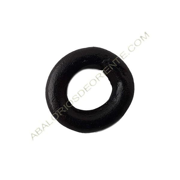 Aro cerámica negro mate 23 mm