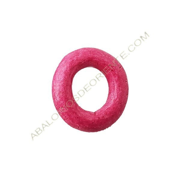 Aro cerámica rosa mate 23 mm