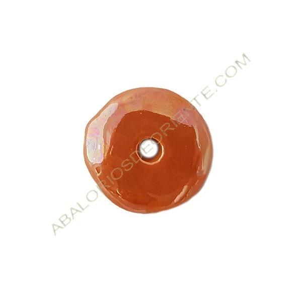 Disco cerámica naranja 33 mm