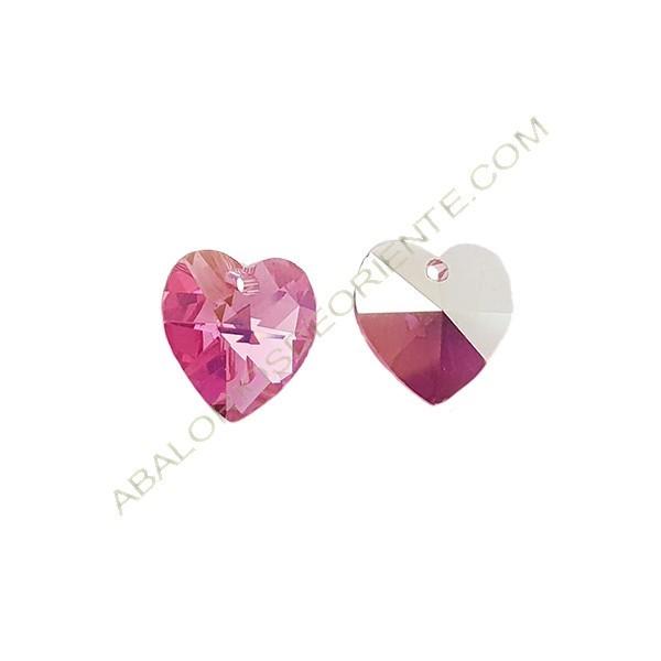 aliexpress bien conocido calidad y cantidad asegurada Corazón Swarovski 10 mm rose