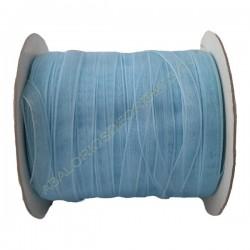 Hilo organza 7 mm azul claro