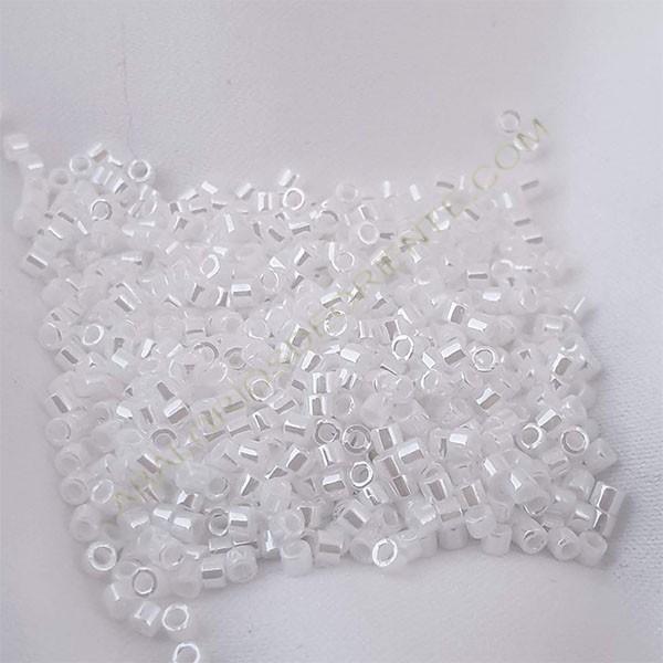 Delica blanco brillante 5 gramos
