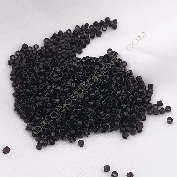 Delica negro brillante 5 gramos