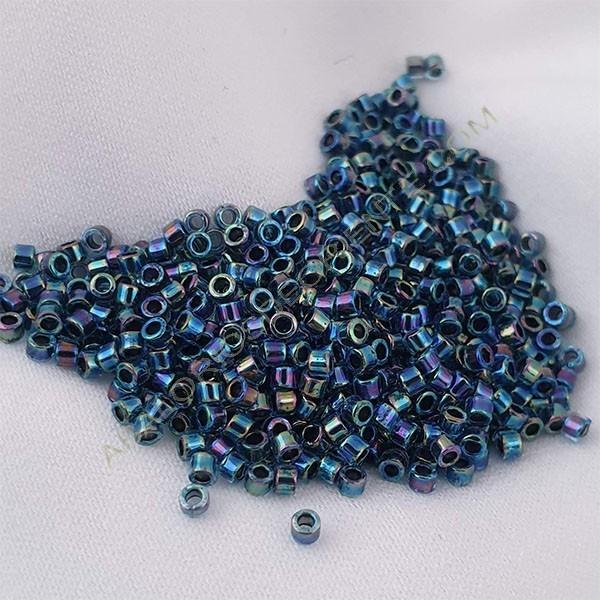 Delica azul brillante 5 gramos