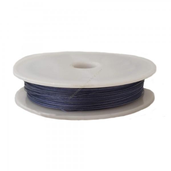 Alambre de acero azul medio 0,38 mm
