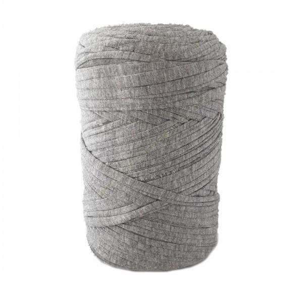 Bobina de trapillo gris jaspeado