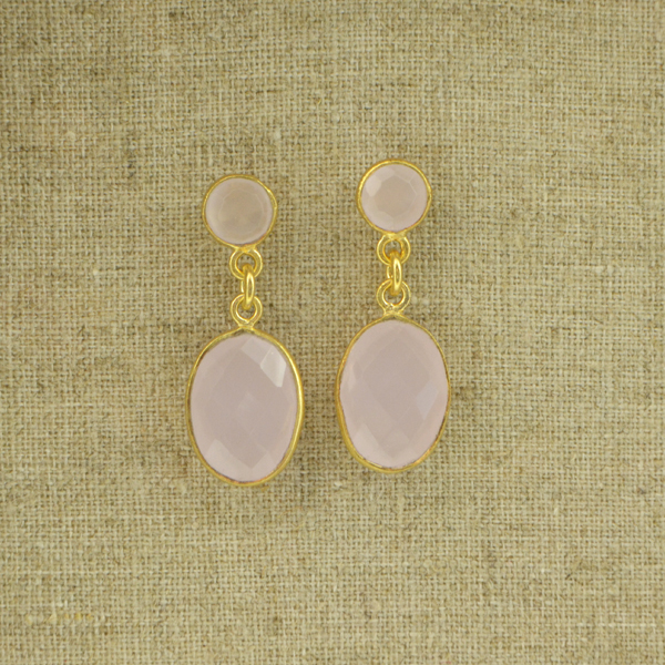 Pendientes 2 rosa 2