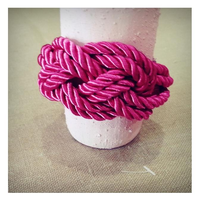 Pulsera marinera rosa
