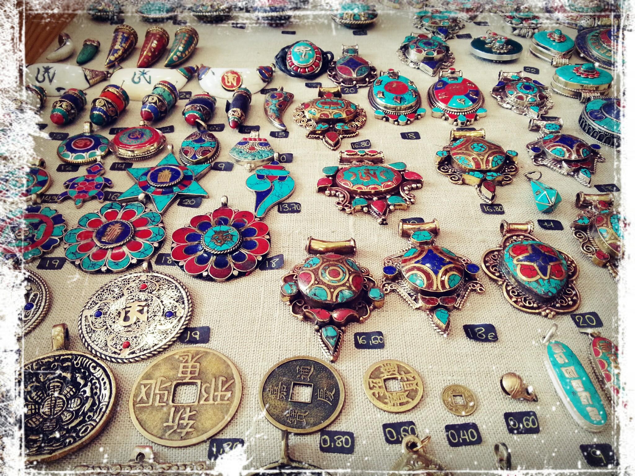 Abalorios tibetanos