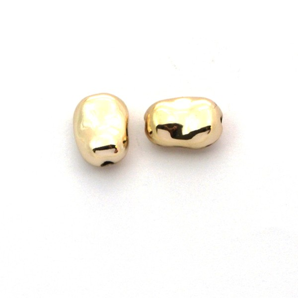 Entrepieza haba chapada en oro - Entrepiezas chapadas en oro