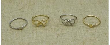Anillos de plata 925 con piedras semipreciosas