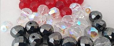 Cristal checo facetado