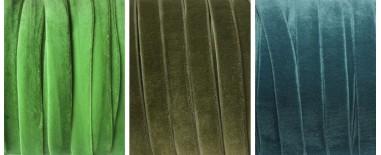 Cintas terciopelo verde