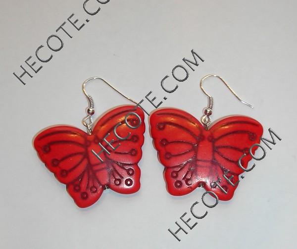 Pendientes de mariposas